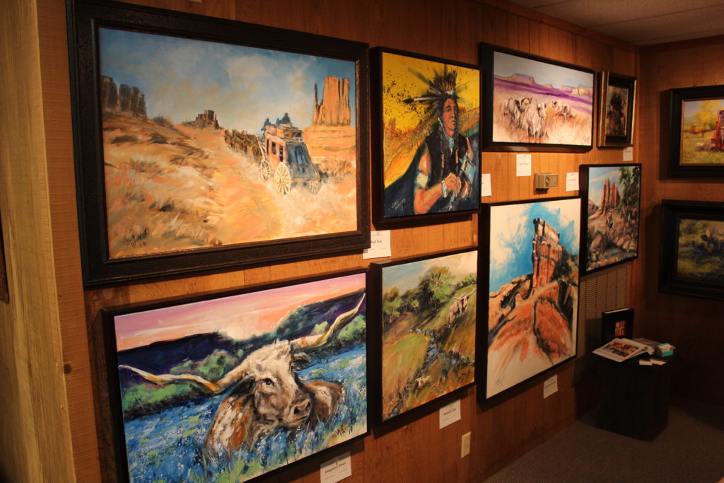 2017 Stamford Art Show. Photo courtesy of West Texas Rehab.